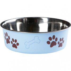 Hondenvoerbak-Inox-Bella-Blauw