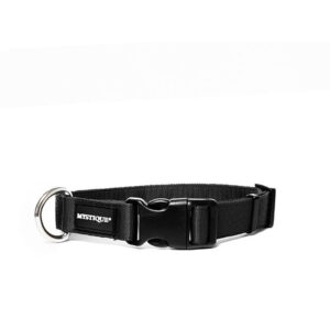 Mystique nylon halsband zwart