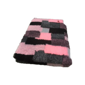 Vetbed Patchwork Roze