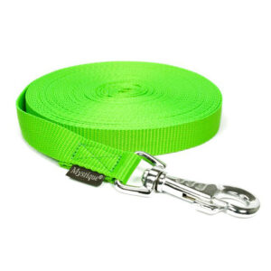 Nylon Tracking Leash Neon Groen
