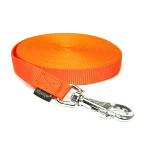 Nylon Tracking Leash Neon Oranje